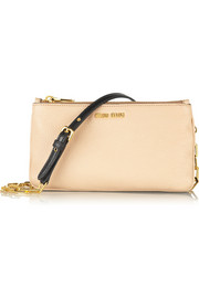 Miu Miu Piccole leather shoulder bag