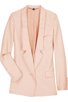 Stella McCartney Oversized silk jacket  | NET-A-PORTER.COM from net-a-porter.com