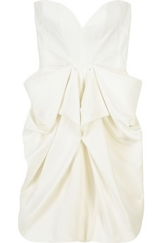 Stella McCartney Vell strapless dress