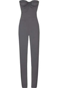 Stella McCartney Shantung silk jumpsuit
