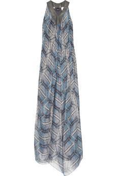 Aminaka WilmontDigital print silk gown