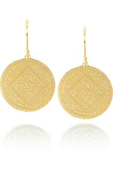 Monica VinaderMarie disc earrings
