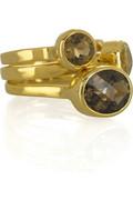 Monica Vinader Candy quartz rings