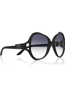 Miu Miu Oversized butterfly glasses