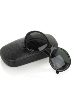 Cutler and GrossOversized circular sunglasses