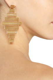 Arme De L'AmourGold-plated earrings