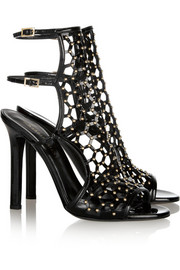 Tamara Mellon Submission studded patent-leather sandals
