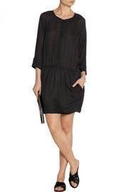 Raquel AllegraSilk-georgette dress