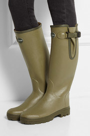 Le Chameau Vierzon leather-lined rubber boots
