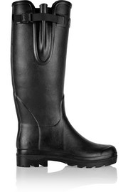 Vierzon leather-lined rubber boots