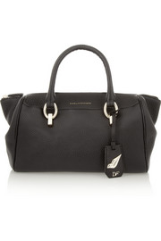 Diane von Furstenberg Sutra textured-leather tote