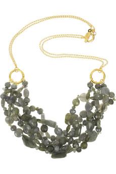 Monica Vinader Cabos labradorite necklace