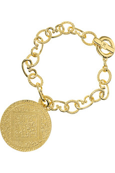 Monica Vinader Marie disc bracelet