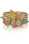 Bijoux Heart Tutti Frutti embellished cuff