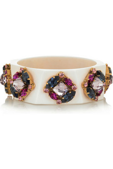 Erickson Beamon Gem-embellished bangle