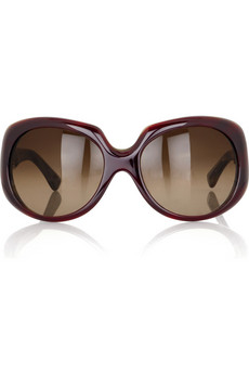 Fendi Stitch-effect sunglasses