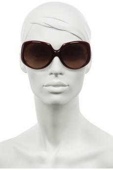 FendiStitch-effect sunglasses