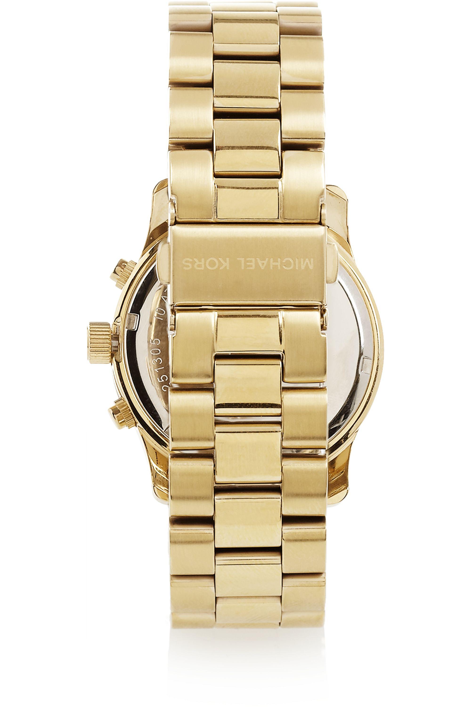 Michael Kors Gold-plated watch