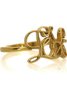 Alex Monroe Love ring