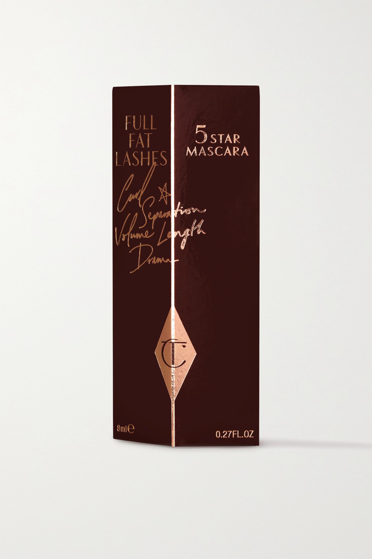 Charlotte Tilbury Full Fat Lashes 5 Star Mascara - Glossy Black