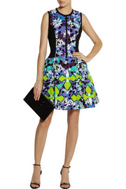 Peter Pilotto for Target Printed stretch-matelassé dress