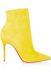 Christian Louboutin So Kate 100 suede ankle boots