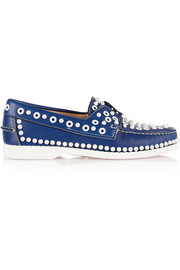 Christian Louboutin Yacht Spikes leather loafers