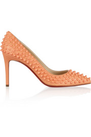 Pigalle Spikes 85 leather pumps