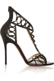Christian Louboutin Martha 100 leather sandals
