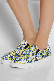 Peter Pilotto for Target Floral-print canvas sneakers