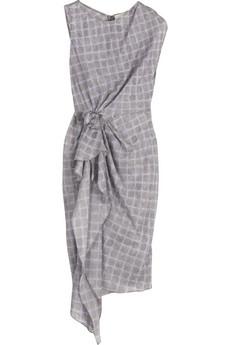 3.1 Phillip Lim Silk draped dress|NET-A-PORTER.COM from net-a-porter.com