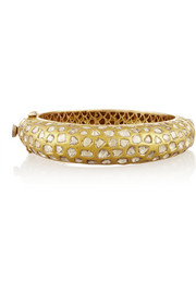 MUNNU 22-karat gold diamond bangle