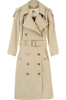 Burberry Tottenhil technical taffeta trench