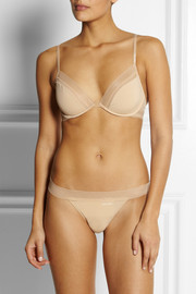 Calvin Klein Underwear Icon Bare stretch-satin underwired bra