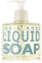Eau d'Italie Tea & Rose Liquid Soap, 300ml
