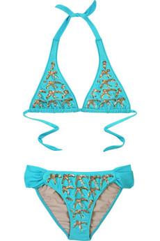 Tara Matthews Nani turquoise bikini