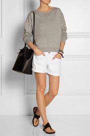 Rag & bone Boyfriend low-rise denim shorts