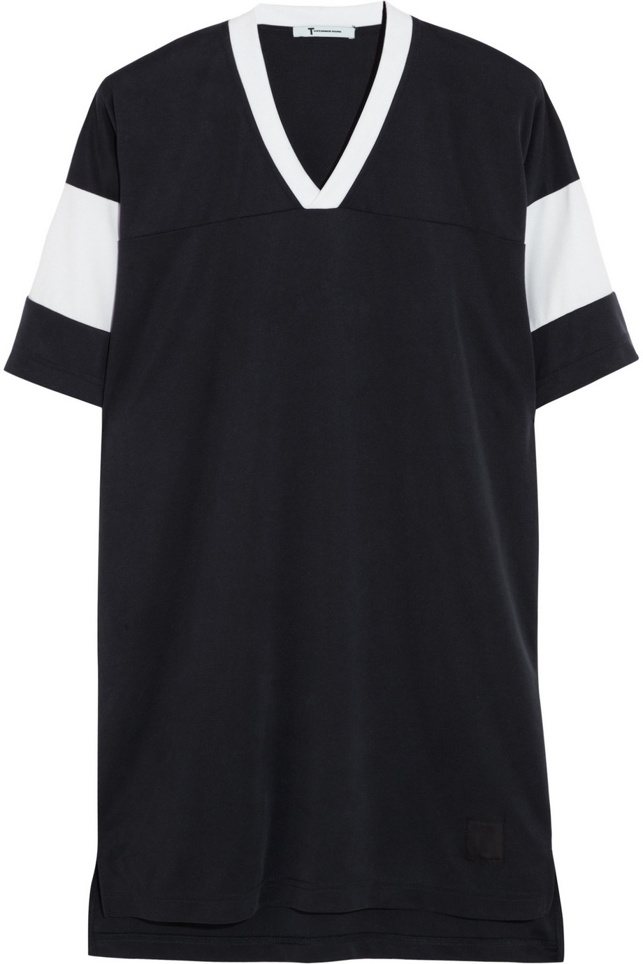 Sandwashed Piqu T Shirt Dress T By Alexander Wang Telegraph