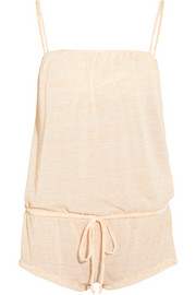 Eberjey Bleached Out jersey playsuit