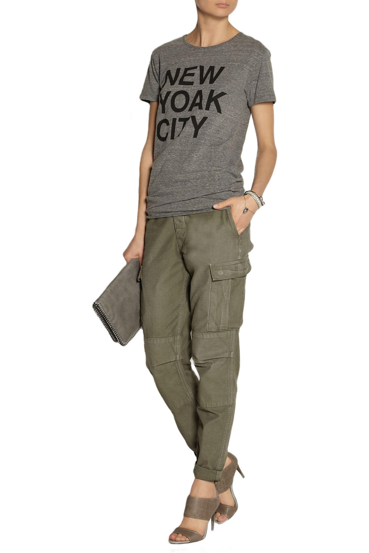 rag & bone Combat mid-rise cotton-canvas cargo pants