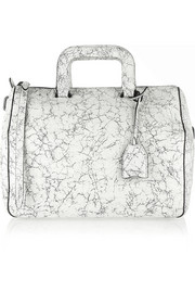 3.1 Phillip Lim Wednesday medium cracked-leather satchel