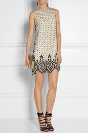Alice + OliviaEmbellished silk-chiffon dress