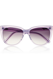 Prism Moscow cat eye acetate sunglasses