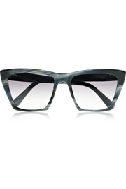 Sydney square-frame acetate sunglasses