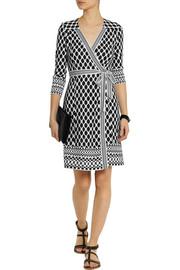Diane von FurstenbergTallulah printed silk-jersey wrap dress