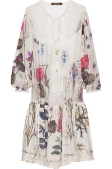 Roberto CavalliChiffon tunic dress