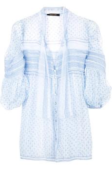 Roberto CavalliSilk printed blouse
