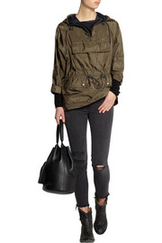 Burberry Brit Packaway drawstring shell jacket