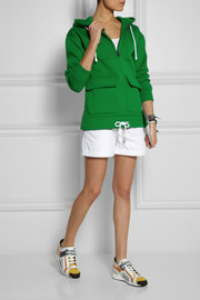 Burberry Brit Scuba cotton-jersey hooded sweatshirt