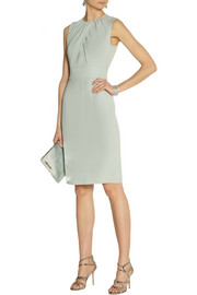 Burberry London Silk-crepe dress